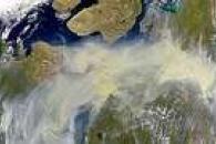 Smoke Over Northern Nunavut