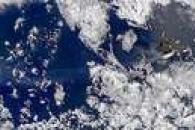 Smoke from Isabela Volcano