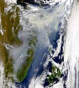 Smoke from Russian Fires - selected image