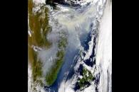 Smoke from Russian Fires