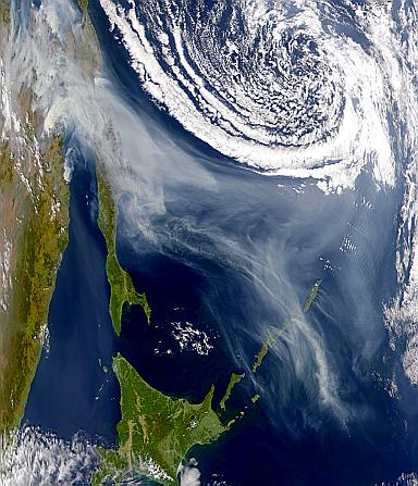 Swirling Smoke from Sakhalin - related image preview