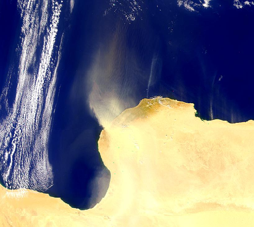 Libyan Dust Storm - related image preview