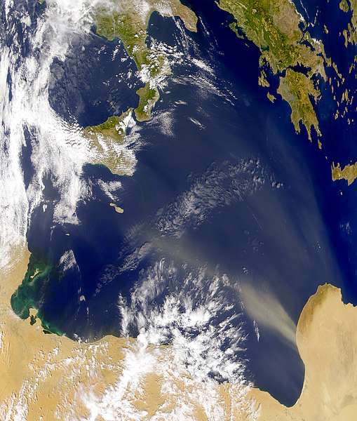 Libyan Dust Plume - related image preview