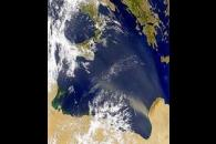 Libyan Dust Plume