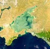 Turbid Sea of Azov - selected image