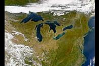 Great Lakes from SeaWiFS