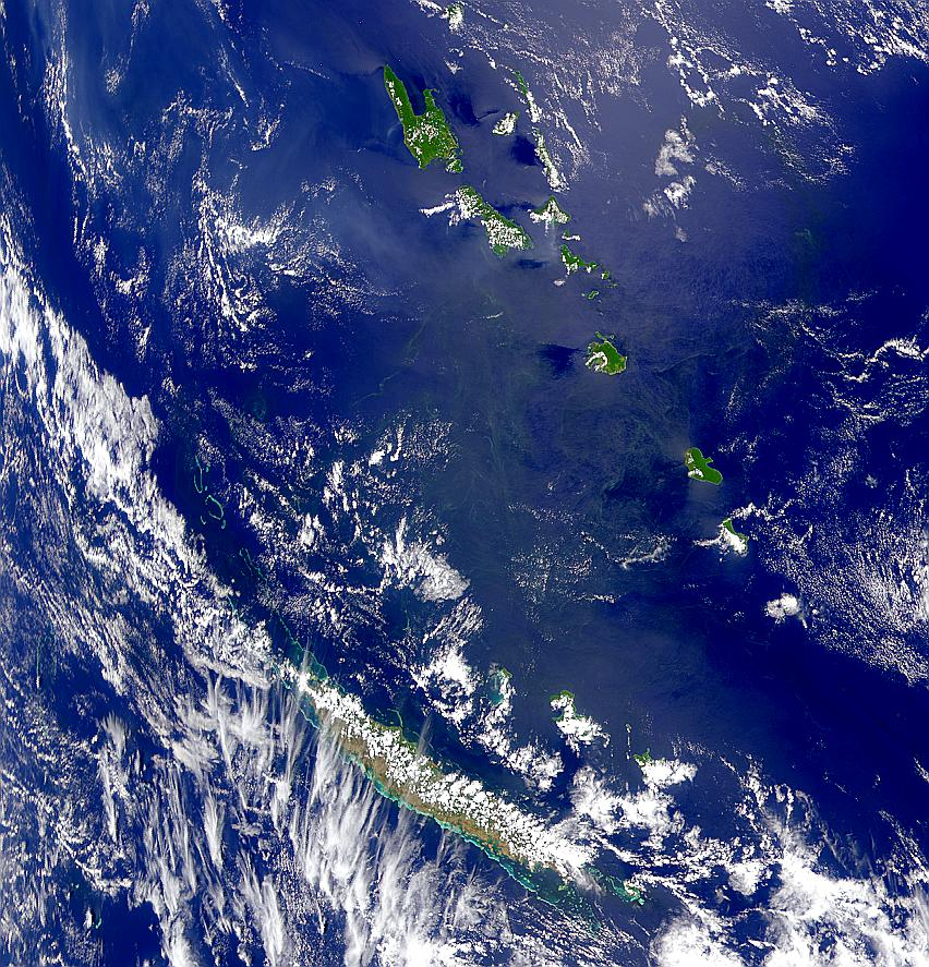New Caledonia and Vanuatu - related image preview