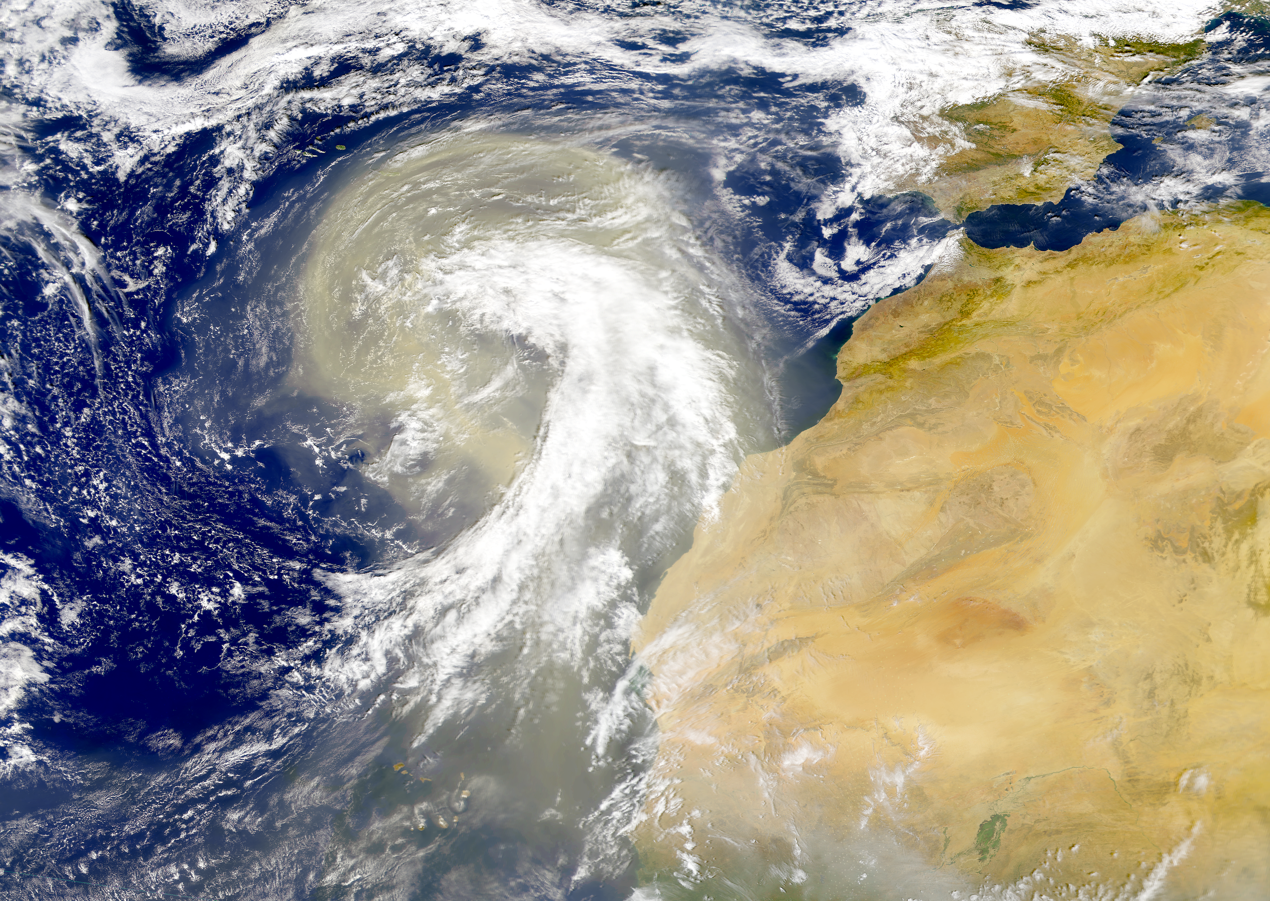 Sahara Dust Plume - related image preview