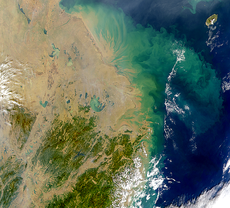 Taihu Lake, Yangtze River Plume - related image preview