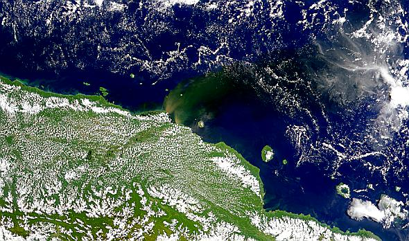 New Guinea Sediment Plumes - related image preview