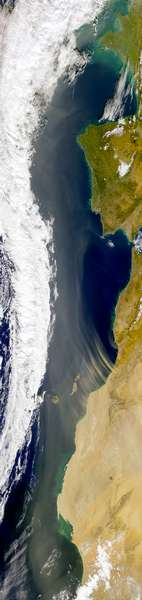 Saharan Dust Heads North - related image preview
