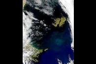 Low Radiances Around the Falklands