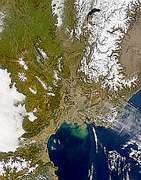 Rhone Valley and Sediment Plume - selected image