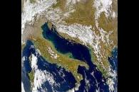 Adriatic Sea and Italy