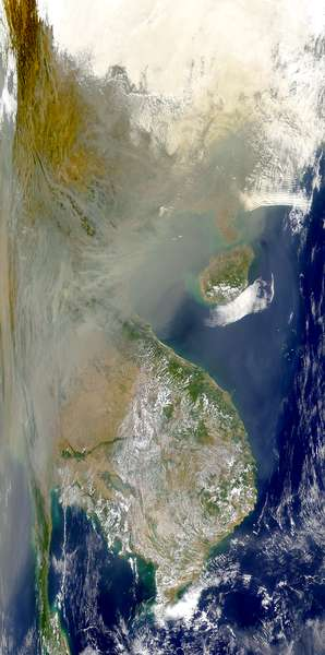 Thick Smoke Over Southeast Asia - related image preview