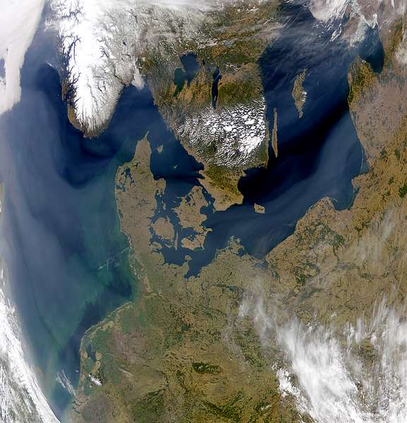 Thick Haze Over Northern Europe - related image preview
