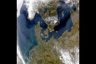 Thick Haze Over Northern Europe