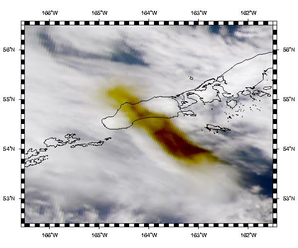 Shishaldin Eruption Plume - related image preview