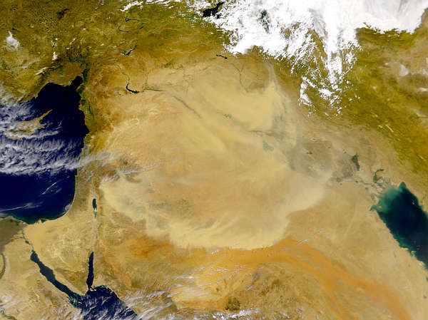 Middle East Dust Storm - related image preview