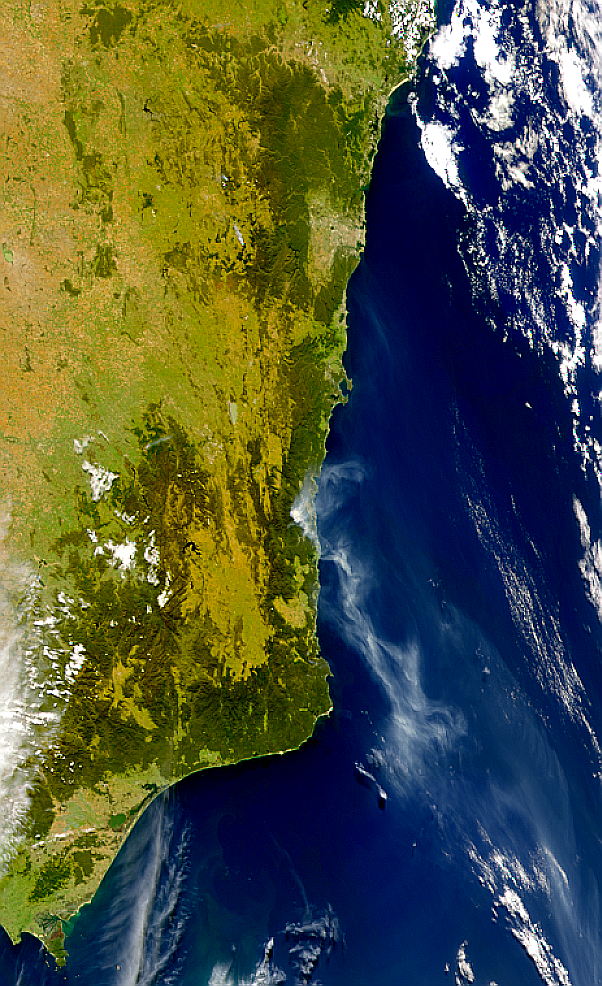 Fires Southeast of Canberra - related image preview