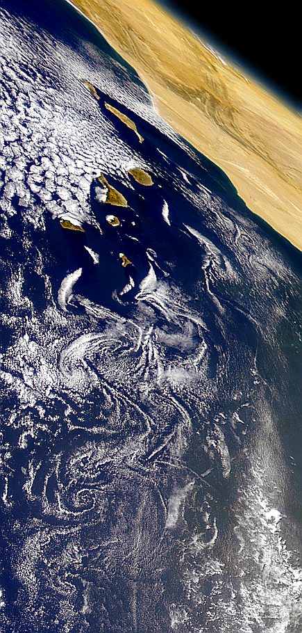 Canary Islands Vortex Street - related image preview