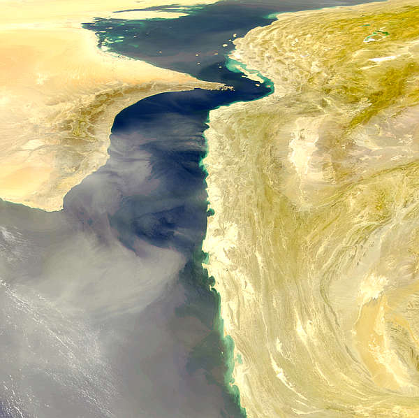 Gulf of Oman Dust Storm - related image preview