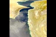 Gulf of Oman Dust Storm