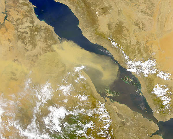 Red Sea Dust Storm - related image preview