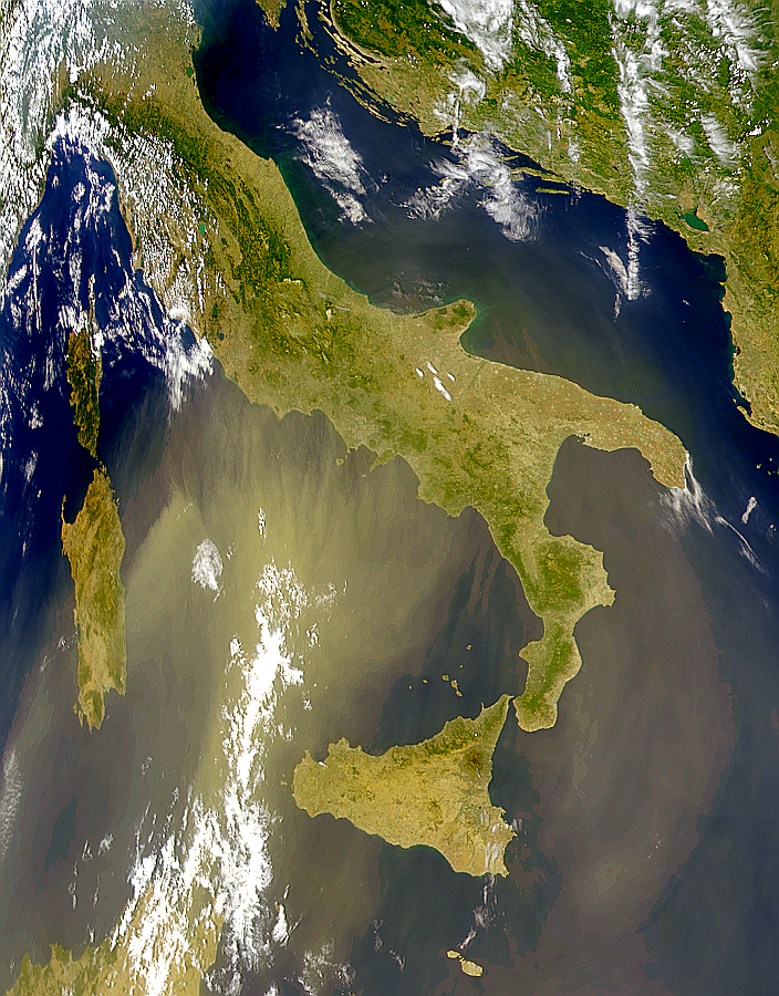 Dust Over Italy - related image preview