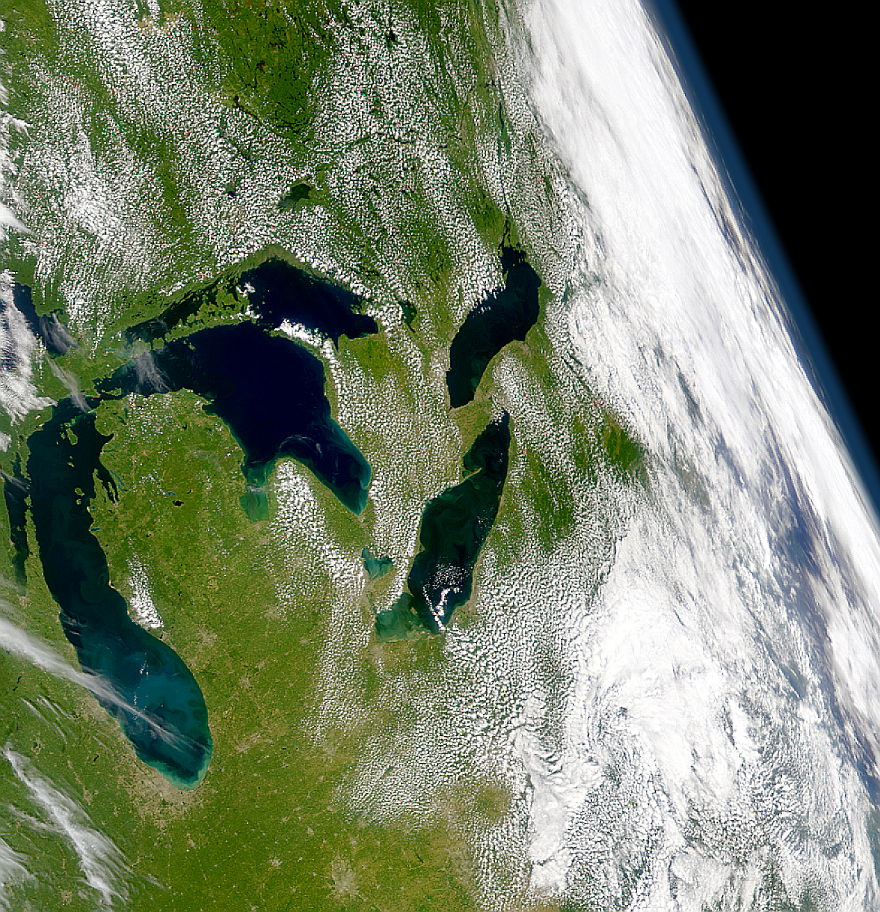 Water Clarity of Great Lakes - related image preview