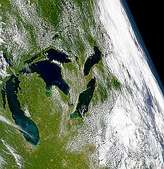 Water Clarity of Great Lakes - selected image