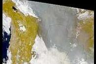 Dense Smoke Over Bolivia