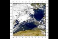 Dust from Algeria Over Mediterranean