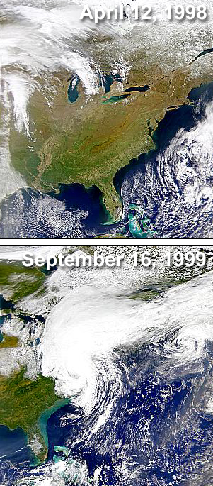 Hurricane Floyd's Effect of Shelf Turbidity - related image preview
