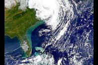 Hurricane Floyd's Effect of Shelf Turbidity