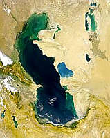 Caspian Sea - selected image