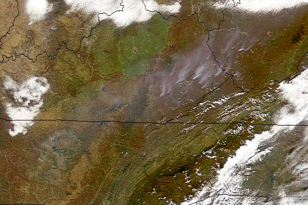 Fires in Kentucky and West Virginia - related image preview
