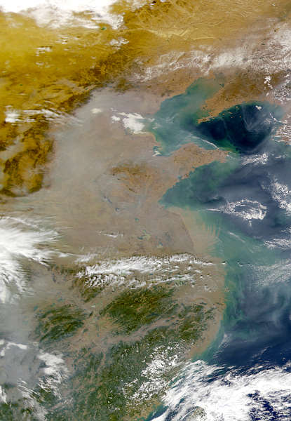Eastern China Pollution - related image preview