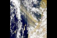 Strong Moroccan Dust Storm