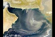 Arabian Sea Dust Storm