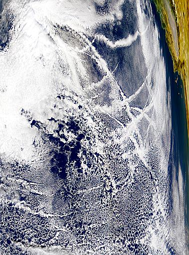 Contrails Over the Pacific - related image preview