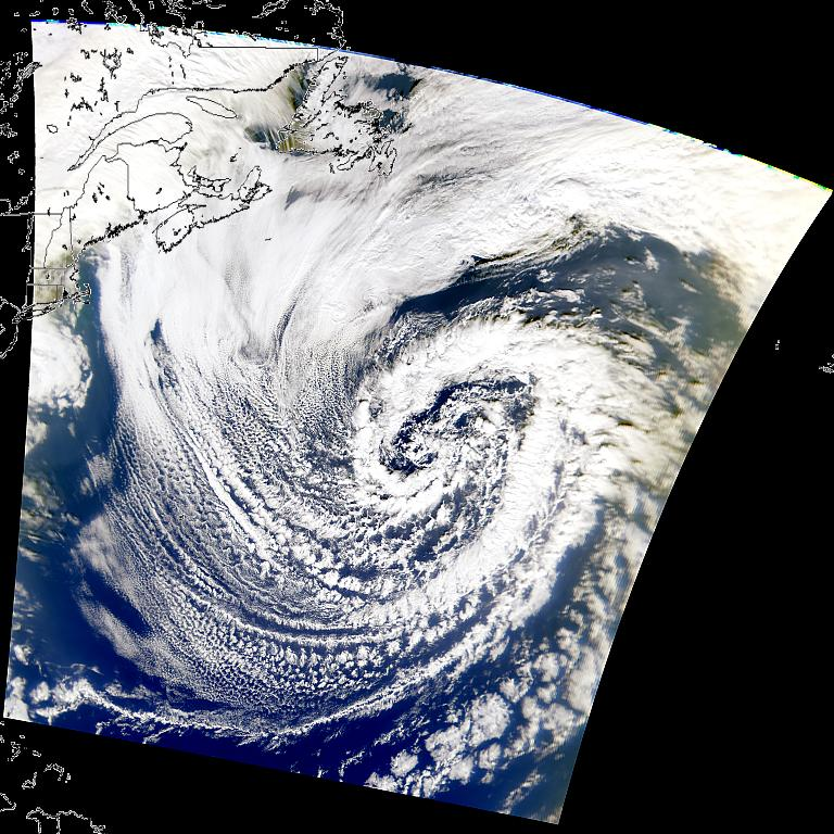 North Atlantic Low Pressure System - related image preview