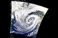 North Atlantic Low Pressure System