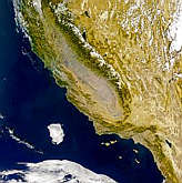 Haze in the San Joaquin Valley - selected image