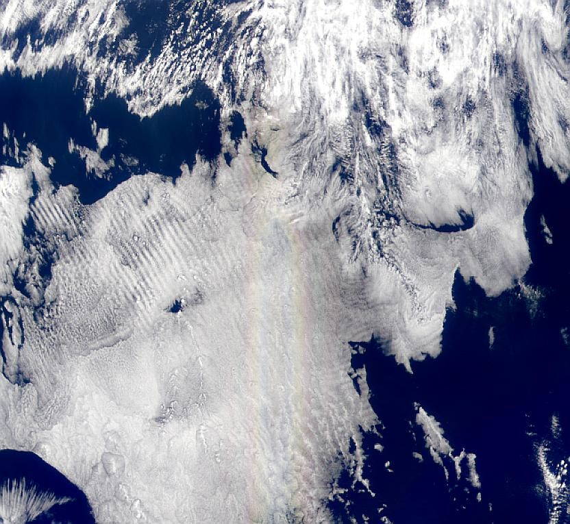 Rainbow Over the Equatorial Pacific - related image preview