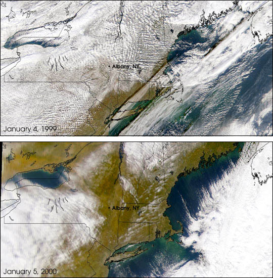 Decreasing Snowfall in North America - related image preview