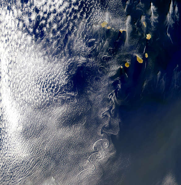 Cape Verde Islands Vortex Street - related image preview