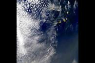 Cape Verde Islands Vortex Street