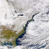 Eastern North America Snow Cover - selected image