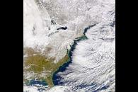 Eastern North America Snow Cover